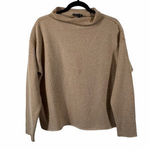 Eileen Fisher Cashmere Blend Sweater Flawed